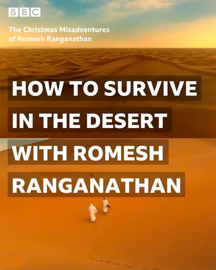 How to survive the desert with Romesh