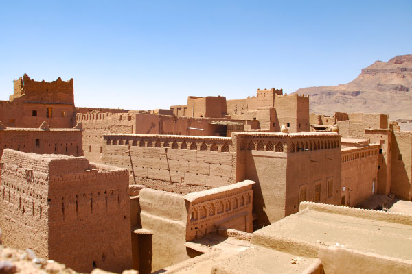 The 16th century ksar of Tamnougalt