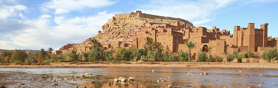 UNESCO site of Ksar Aït Benhaddou