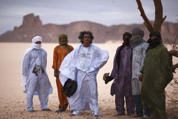 Tinariwen is a Grammy Award-winning group of Tuareg musicians from the Sahara Desert region of northern Mali